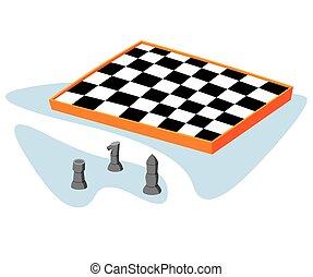 isometric chess