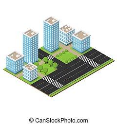 Isometric city part
