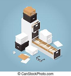Isometric Concept Folder Archive