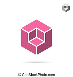 Isometric cubic shape