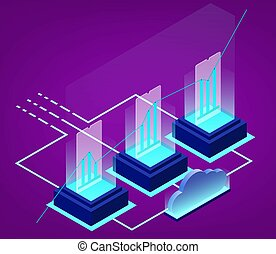 Isometric data analysis and business statistic
