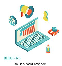 concept of blogging