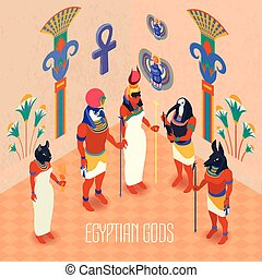 Isometric Egypt Illustration