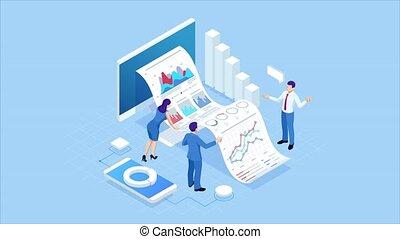 Isometric Expert team for Data Analysis, Business Statistic,...