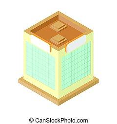Isometric factory design