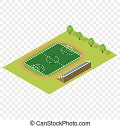 Isometric football field