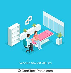 Isometric Medical Care Template