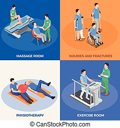 Isometric Physiotherapy Design Concept - Physiotherapy...