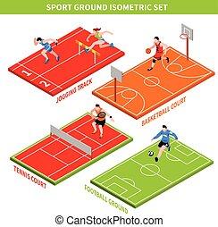 isometric, pojęcie, sport