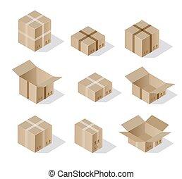 Isometric set 3D