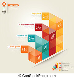 Isometric Shape Design Layout - Isometric shape modern style...