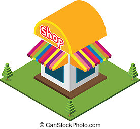 Isometric Small Shop