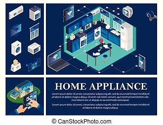 Isometric Smart Home Concept