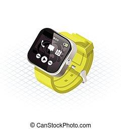 Isometric Smart Watch