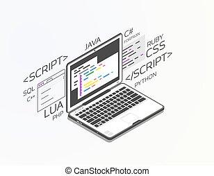 Isometric software development