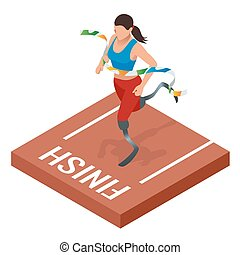 Isometric sports for peoples with disabled activity....