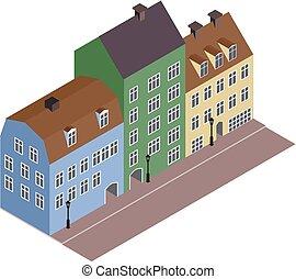 Isometric street