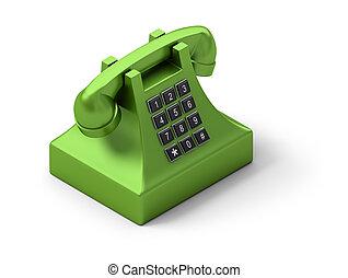 isometric, telefone