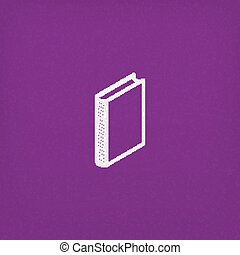 isometric vector book icon