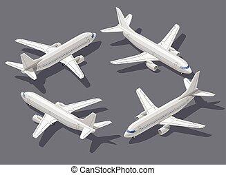 isometric, vliegtuig