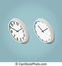 Isometric Wall Clocks