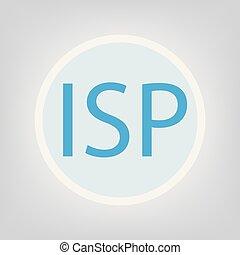 ISP (Internet Service Provider) concept- vector illustration...