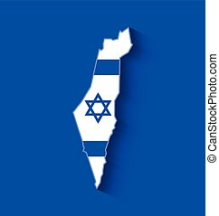 israël, carte