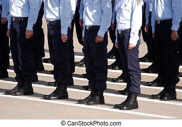 israël, ceramony, -, remise de diplomes, armée air, pilotes