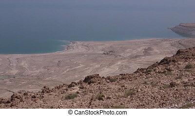 israël, paysage, mer, mort