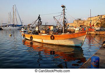 israël, voyage, -, photos, akko, acer