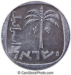 Israel 10 Agorah Coin, 25th Anniversary Bank of Israel