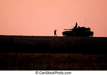 Israel Army Tank
