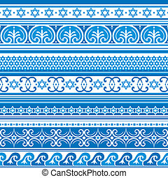 israel background - seamless vector background with israel...
