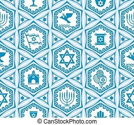 israel, desenho, seamless