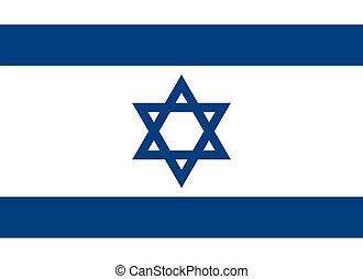 Israel flag - Vector Israel national flag