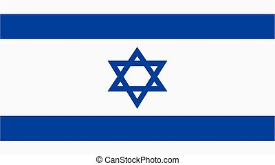 israel Flag for Independence Day and infographic Vector illustration.