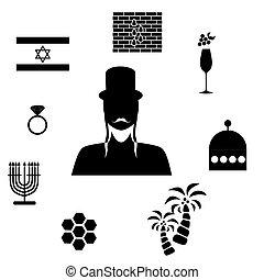 israel flat design