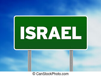 Israel Highway Sign