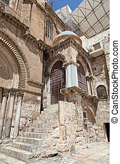Israel. Jerusalem. Church of the Holy Sepulchre