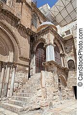Israel. Jerusalem. Church of the Holy Sepulchre