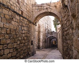 Israel - Jerusalem Old City Alley