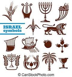 israel, judaísmo, cultura, história, símbolos, religião