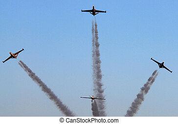 israel, luftwaffe, -, flugschau