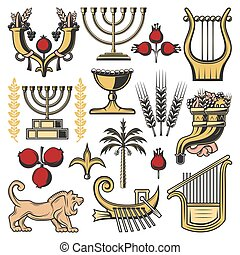 Israel symbols of judaism religion, jewish culture