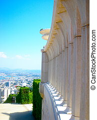 israel, templo, bahai, haifa
