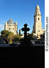 Israel Travel Photos - Jerusalem - Hagia Maria Sion Abbey...