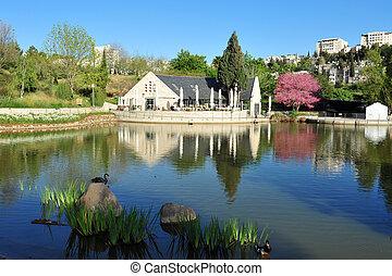 Israel Travel Photos - Jerusalem - The Botanical Gardens of...