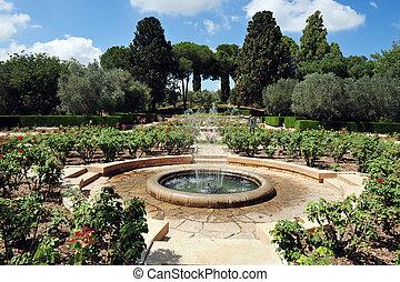 Israel Travel Photos - Zichron Yaakov - Gan HaNadiv ,Garden...