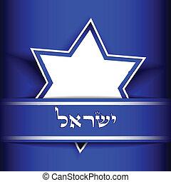 israel, vector, -, plano de fondo