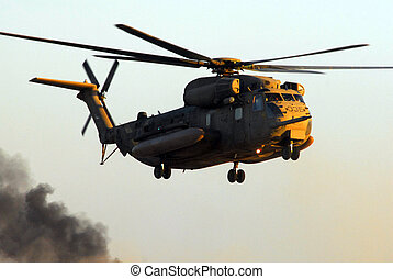 Israeli Air Force CH-53 Sea Stallion Helicopter -...